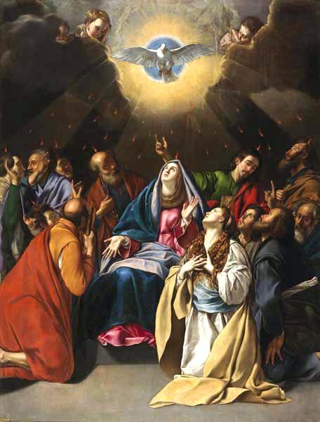 LA VIRGEN MARÍA EN PENTECOSTÉS
