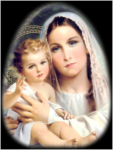 VIRGEN MARÍA MADRE QUERIDA Y PODEROSA