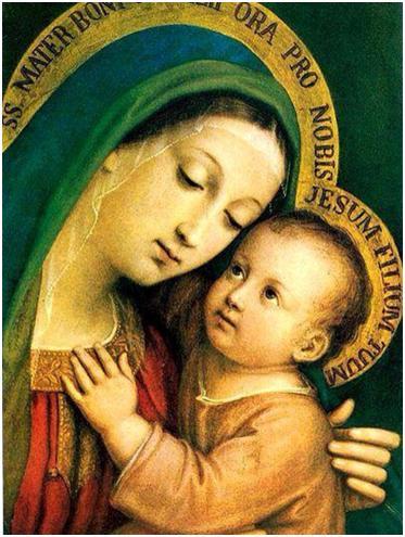 Oración de gracias a la hermosa mirada de la virgen María