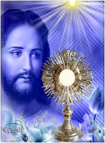 Bendito y alabado sea Jesús en el santísimo sacramento del altar oración de ayuda