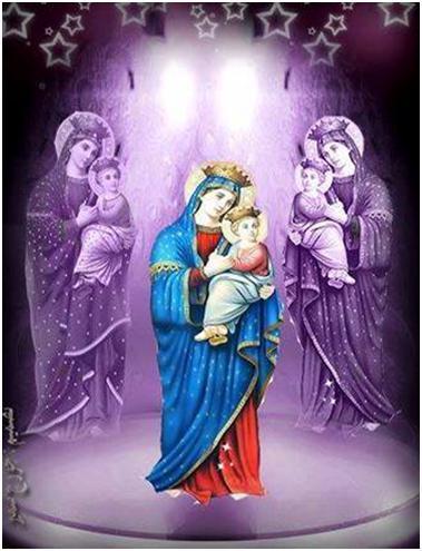 LA VIRGEN MARÍA CONSUELO PARA EL PECADOR