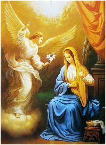 Anunciación del Ángel Gabriel a la Santísima Virgen María