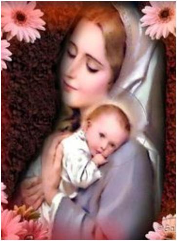 CANTEMOS ALABANZAS Y ORACIONES VAYAMOS JUBILOSOS A JESÚS POR MARÍA