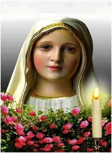 Acude a la virgen María si tienes algún problema y preocupación