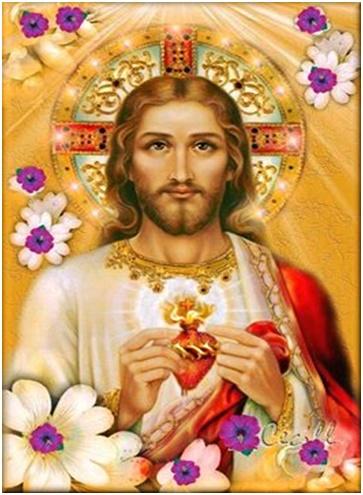 Corazón divino de Jesús atrae seduce y fascina