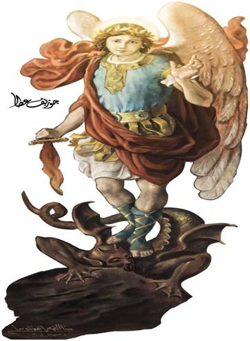Coronilla San Miguel Arcángel y sus Tres Promesas Muy Milagrosa