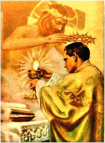 Cuerpo y Sangre de Cristo Misterio de la Eucaristía
