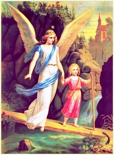 Gracias Dios por el don de la vida y por darme un ángel guardián
