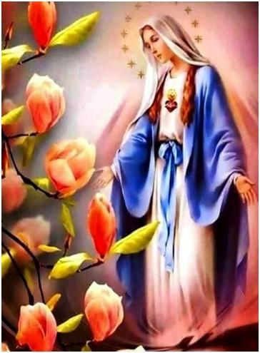 Intercesión de la Virgen María Madre ante su Hijo Nuestro Señor