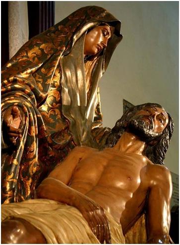 Jesús mío sea la llaga de vuestro Sacratísimo Corazón mi refugio