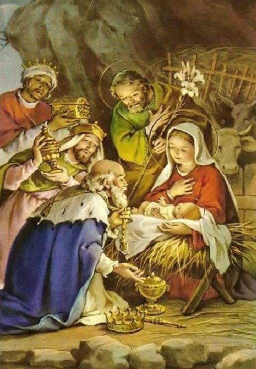 Los Reyes Magos siguen la estrella a Belén
