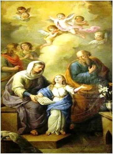 Niña Santa María Virgen Oración para Pedir Tres Gracias