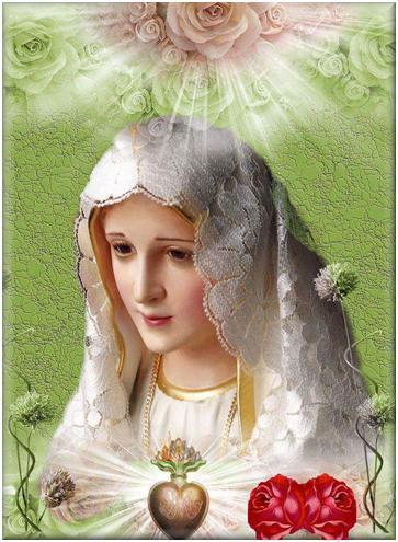 Virgen María de Fátima en dulce melodía te expreso mi amor y devoción
