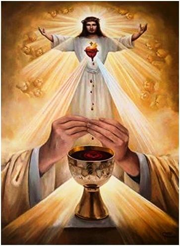 Oración Santísimo Sacramento del Altar para pedir fortaleza y esperanza