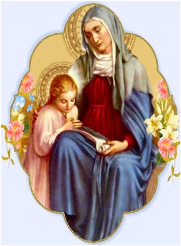 Oración a santa Ana para pedir por los hijos
