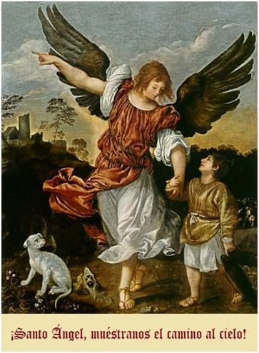 Oración al Ángel de la Guarda para que nos de prosperidad y felicidad