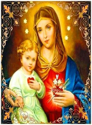 Oración de consagración al inmaculado corazón de María