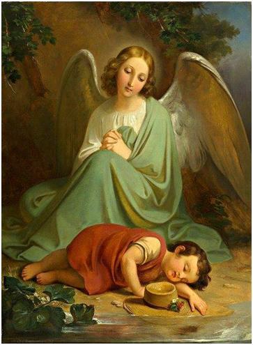 Para cualquier necesidad oremos con el Ángel de la Guarda