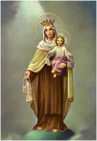 Porque soy devoto de la virgen del Carmen hago esta oración