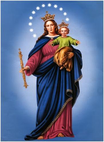 Saludo a maría madre de dios auxilio de los cristianos