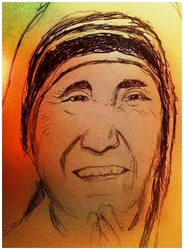 Santa Teresa de Calcuta oración para ser Bendecido y siempre Sonreír