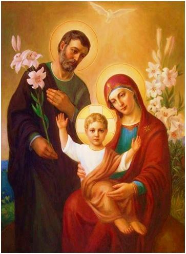 Sobran méritos para confiar en la virgen María como modelo de familia