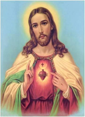 Te saludo Misericordioso Corazón de Jesús