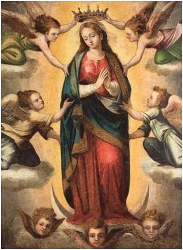 Veneremos con gozo y alegría a María Reina de los Ángeles