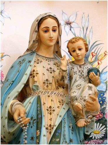 Virgen María si Tú me dejas quién me Sostendrá