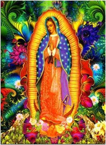 Virgen de Guadalupe Quien es esa estrella que a los hombres guía