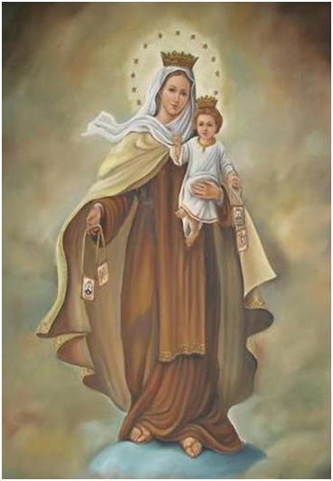 Virgen del Carmen oración para momentos difíciles