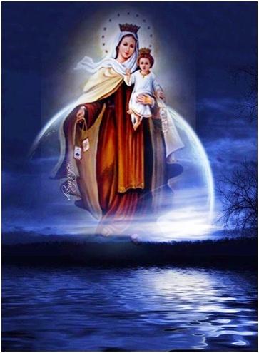 Virgen del Carmen que tus promesas nos conduzcan al cielo