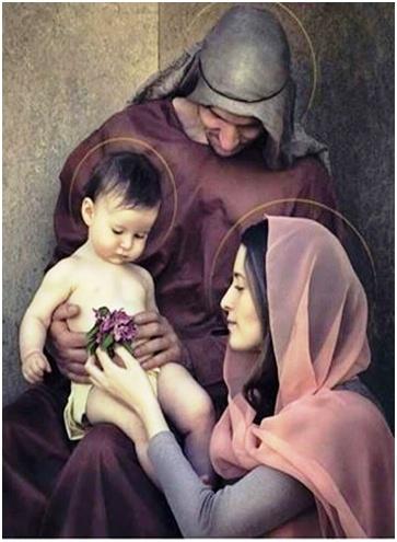 Oración a la sagrada familia para bendecir nuestras familias y hogares