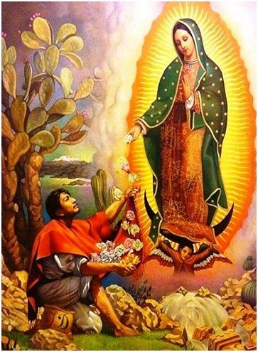 Virgen de Guadalupe escoge a San Juan Diego como su confidente